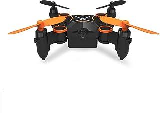 Love lamp Drones HD Mini-Drone Pupilas Resistentes a caídas Aviones de Cuatro Ejes Plegables pequeños Antena aérea HD Aviones de Control Remoto for niños Aeronave Inteligente (Color : Green)