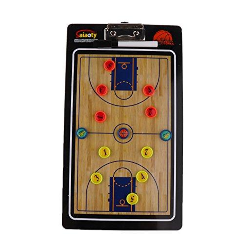 CUTICATE Magnetische Taktikboard Taktiktafel Magnettafel Coaching-Board für Basketball