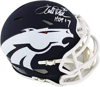 terrell davis signed mini helmet