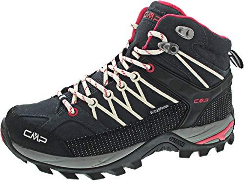 CMP Damen Rigel Mid Wmn Shoe Wp Trekking-& Wanderstiefel, Grau (Antracite-Off White 76uc), 38 EU