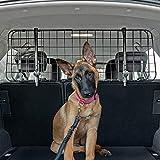 QualiTechna® Auto Hundegitter mit Sicherheitsgurt - universal, verstellbar & extra stabil -...