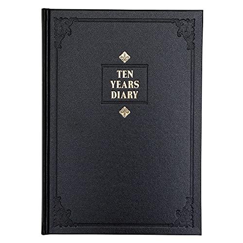 アピカ 日記帳 10年日記 横書き B5 日付け表示あり D305