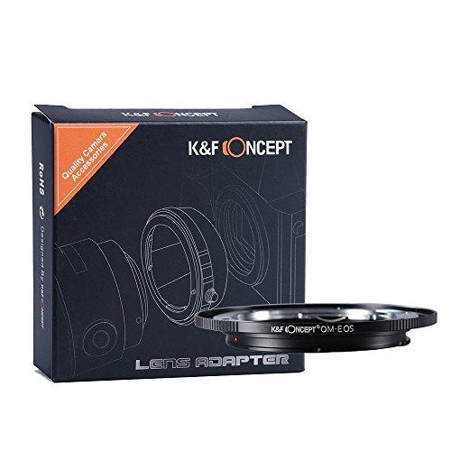 K&F Concept, adattatore per obiettivi fotocamere serie EOS, anello adattatore per obiettivo