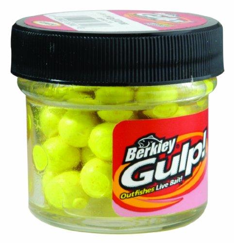 Berkley Gulp! Floating Salmon Eggs , Yellow, 0.56-Ounce