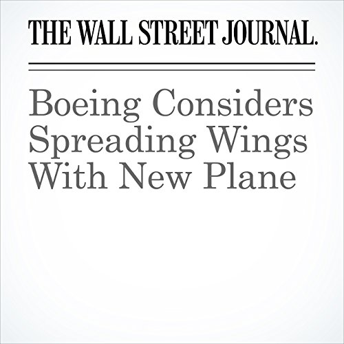 Boeing Considers Spreading Wings With New Plane copertina