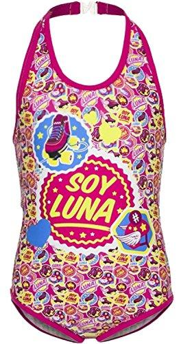 Soy Luna Badeanzug Fuchsia (116 - ca. 5-6 Jahre)