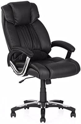 Nilkamal Leatherette Series Trenvi Office Chair Color Black
