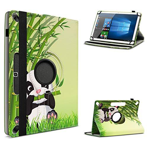 UC-Express Tablet Hülle kompatibel für Lenovo Tab10 TB-X103F Schutzhülle 10,1 Zoll 360 drehbar, Farbe:Motiv 14