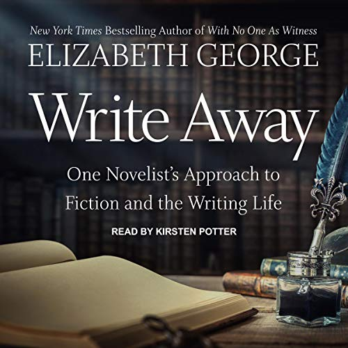 Write Away audiobook cover art