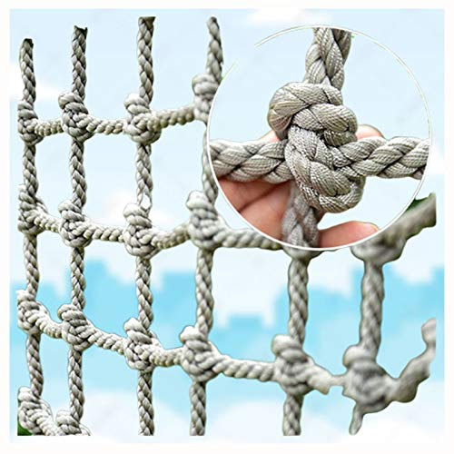 Kletterndes Ladungsnetz,Ladungsfestseilnetz Nylon Klettern Kinder Klettern Erwachsener Felsenbaum,Der Den Älteren Kinderschaukelstuhl Klettert für Erwachsene Mesh Indoor Riesen Heavy Duty Deck Netze