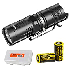 SUPER BRIGHT AND LONG THROW - Emits a max output of 920 lumens and a long throw of 207 yards. RED LIGHT ILLUMINATION - Powerful red light suitable for outdoor applications that preserves night vision while hunting without attracting insects. Beacon m...