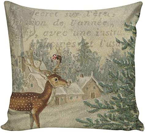 Soldering luckluccy 5 popular Ships Today Christmas Couch Pillows Deer
