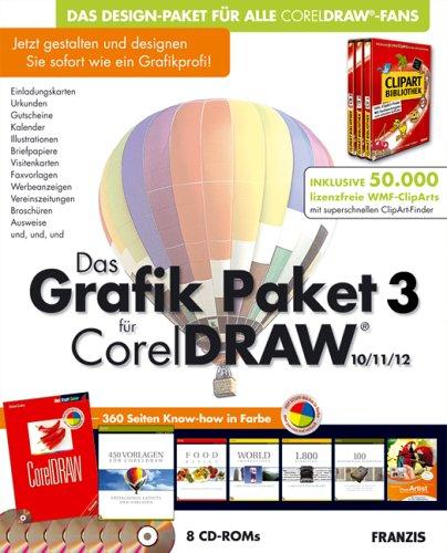 Das Grafik Paket 3 für CorelDraw
