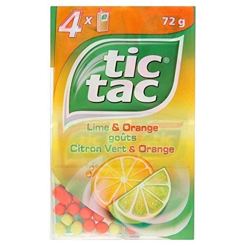 Tic Tac Lime E Arancio 4 X 18g (Confezione da 2)