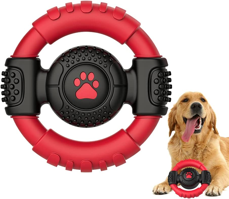Squeaky Dog Toys for Aggressive and Virginia Beach Mall - Nylon store Chewers Ultra-Tough
