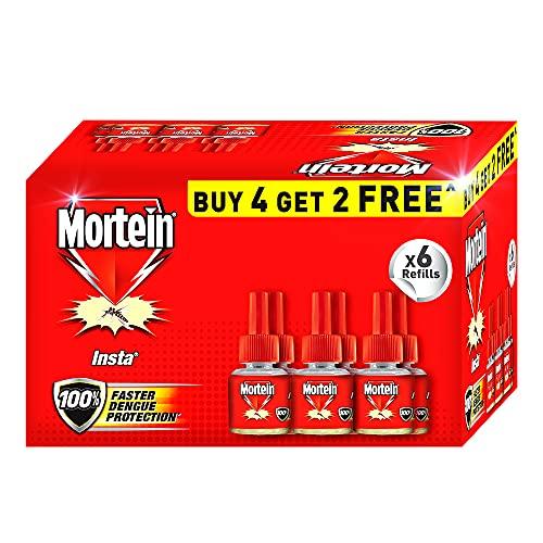Mortein Liquid Vaporizer Refill - Buy 4, Get 2 Free Pack