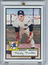 2006 Topps Mickey Mantle #25 Rookie of The Week Baseball Card - Mint Condition- Shipped In Protective Screwdown Case!