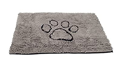 Dirty Dog Doormat Large (Grey)