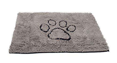 Dirty Dog Doormat Medium (Grey)