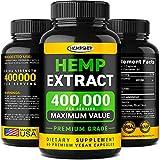 Hempship Hemp Oil Capsules 400,000 - Immune Support and...