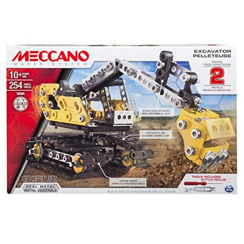 MECCANO-Escavatore, 2 Modelli, 6027036