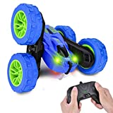 RC Stunt Car Toys Boy Remote Control Stunt Car 360° Flips Double Sided Rotating RC Car 2.4 Ghz 1:28 Best Kids Gift