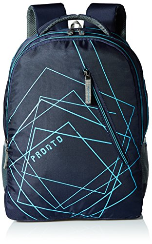 Pronto Dozer 32 Ltrs Navy Blue Casual Backpack (8809 - BL)