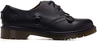 Luxury Fashion | Raf Simons Men 201933D00099 Black Leather Lace-up Shoes | Spring-summer 20