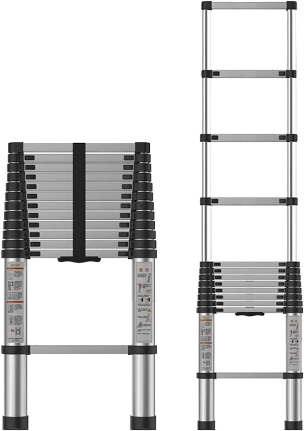 Direct stock discount WKLIANGYUANPING Telescoping Ladder Ladde 3.8M 12.5ft Inventory cleanup selling sale