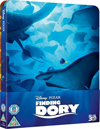 Findet Dorie 3D+2D Steelbook ohne deutschen Ton,Finding Dory 3D+2D, Steelbook,Blu-ray, Zavvi exklusiv, Uncut, Regionfree, 3 Discs