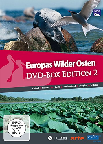 Europas Wilder Osten DVD-Box Edition 2 mit 6 DVDs