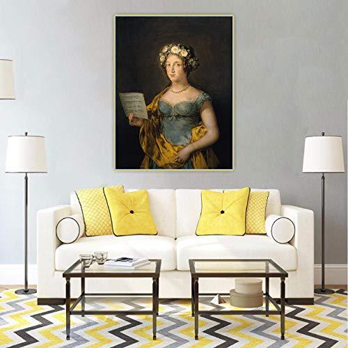 Impresiones de arte de pared Francisco Goya 《Retrato de la