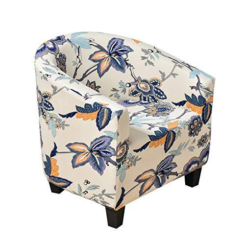 Chesterfield - Copripoltrona elasticizzato con stampa, per divano convertibile, stile moderno, rivestimento di sedia, per decorazione