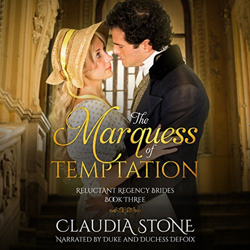 The Marquess of Temptation  audiobook cover art