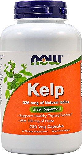 Kelp Caps 325 mcg 250 Vegetarian Capsules by NOW