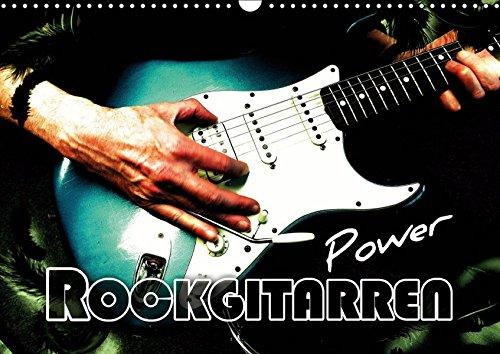 Rockgitarren Power (Wandkalender 2019 DIN A3 quer): Beliebte E-Gitarren mit faszinierenden Effekten eindrucksvoll in Szene gesetzt (Monatskalender, 14 Seiten ) (CALVENDO Kunst)