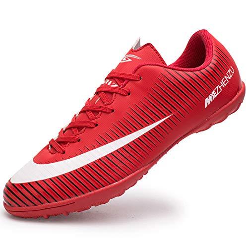 Easondea Fg/Mg Voetbalschoenen voor heren uniseks Spikes Microfiber schoenplaten beroep Kinderen jongens Outdoor atletiek Trainingsschoenen