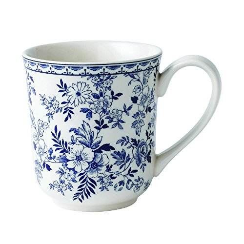 Price comparison product image Johnson Brothers Devon Cottage 12 oz hot beverage mug,  Blue and White