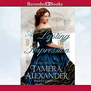 A Lasting Impression     A Belmont Mansion Novel              By:                                                                                                                                 Tamera Alexander                               Narrated by:                                                                                                                                 Linda Stephens                      Length: 18 hrs and 45 mins     374 ratings     Overall 4.5