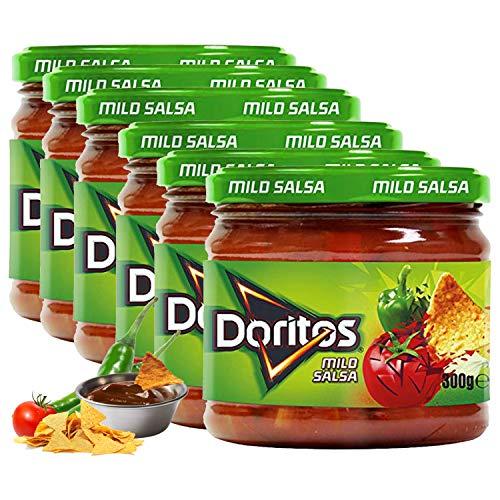 Doritos Milden Salsa-Dip 300G - Packung mit 6