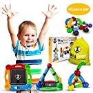 BizyBeez Magnetic Building Blocks Set Special Needs Toys for Kids with Autism, Great for Autistic Boys and Girls, 3 Years Old and Up