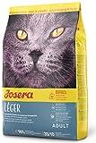 JOSERA Léger (1 x 2 kg) | Katzenfutter mit wenig Fett | für übergewichtige oder sterilisierte Katzen | Super Premium Trockenfutter für ausgewachsene Katzen | 1er Pack
