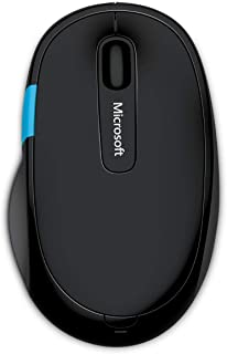 Microsoft Sculpt Comfort Mouse, Bluetooth 4.0 connectivity, 4 way scrolling - [H3S-00002]