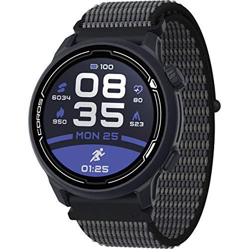 Coros PACE 2 - Reloj deportivo con GPS con monitor cardiaco, barómetro, ANT+ Bluetooth Strava TP Stryd