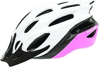 RALEIGH Mission Evo Helmet - White/Pink - Large (58-62cm)