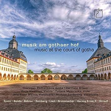 Musik am Gothaer Hof (Werke von Schweitzer, Benda, Spohr, Romberg, Böhner, Liszt, Grützmacher, Herzog Ernst II & Strauss)