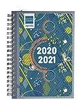 Finocam - Agenda Curso 2020-2021 para Secundaria Octavo, 120 x 169, Semana Vista Apaisada (sept-ag) Mini Institut Tapa Personalizable, Español