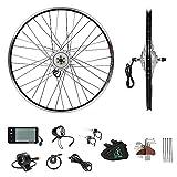 YOSE POWER 36V250W Kit di Conversione per Bici Elettrica con Ruota Anteriore da 28'', Motore a...
