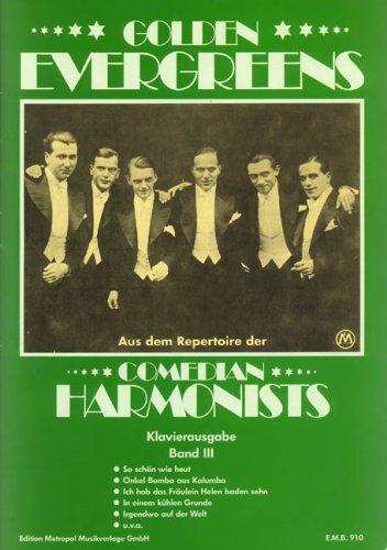 Comedian Harmonists: Golden Evergreens für Gesang und Klavier