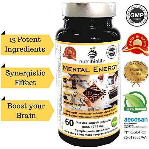 Mental Energy Nootrópico Natural Potenciador Cognitivo